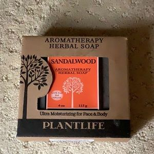New aromatherapy herbal soap sandalwood